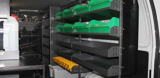 Van Trade Shelving 4