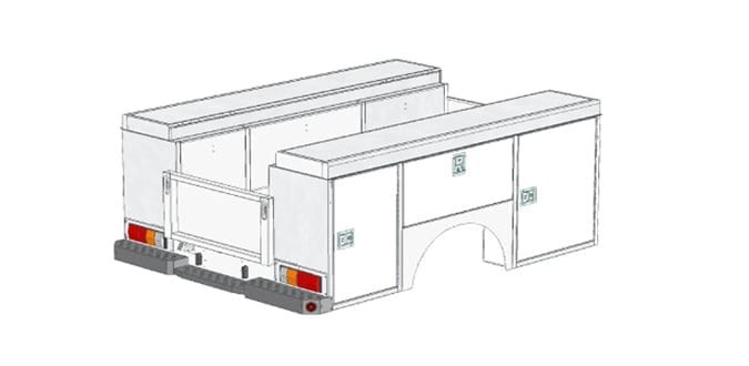 XL Toolboxes - A-Body Single Cab Closed